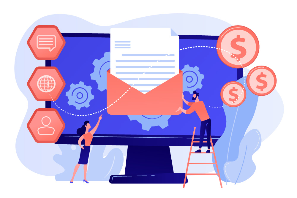 Marketing automation è strettamente legata E-Mail marketing & Engagement: basta pensare alle mail di sconti che ci vengono inviate in occasioni particolari come, ad esempio, il giorno del nostro compleanno, l'anniversario dell'azienda, ecce cc.